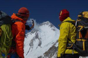 Tam polezeme Gasherbrum I