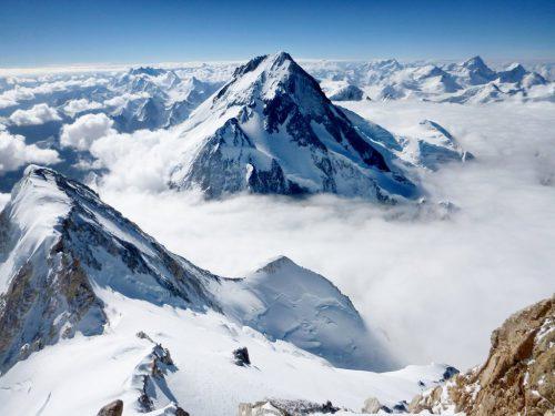 11 G II pohled z vrcholu na G I